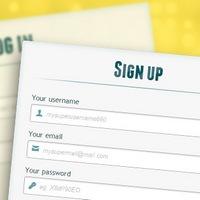 Formularz logowania i rejestracji przy użyciu HTML5 i CSS3
