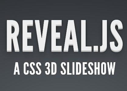 Reveal.js – kolejna kapitalna biblioteka do prezentacji w przeglądarce przy użyciu CSS3