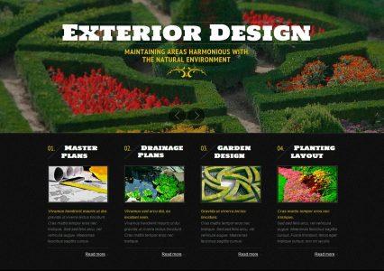 Exterior Design – darmowy szablon WWW