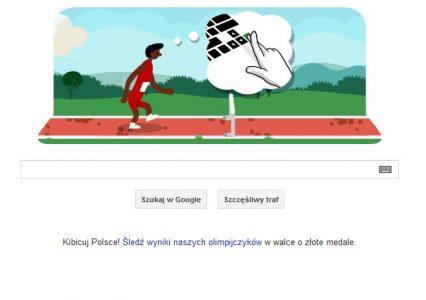Google Doodle – bieg przez płotki
