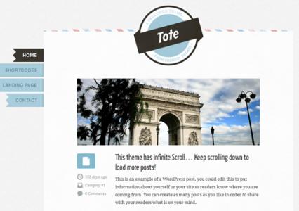10 całkiem przyzwoitej jakości, darmowych szablonów WordPress