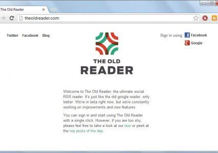 Alternatywy dla Google Reader #1: recenzja The Old Reader