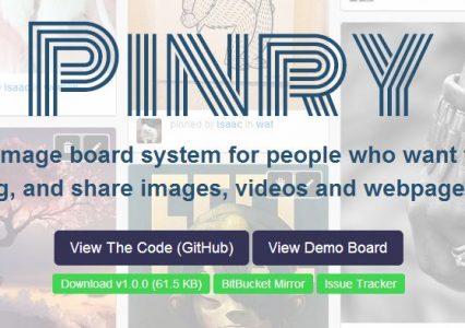 Pinry – czyli stwórz swój własny Pinterest