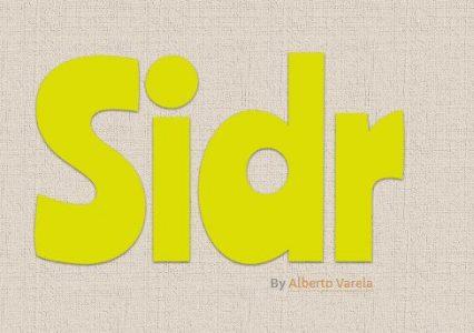 Sidr – skrypt dynamicznie wysuwanego menu