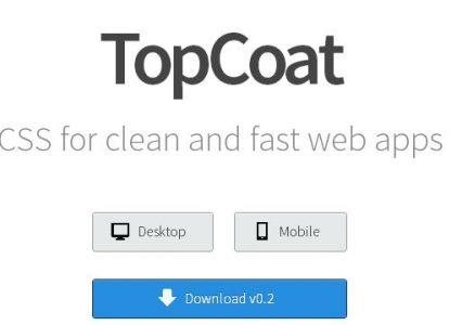 Topcoat – kompleksowe GUI dla strony WWW