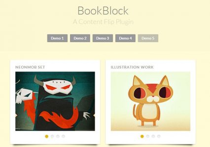 BookBlock – skrypt do kartkowania treści i obrazków