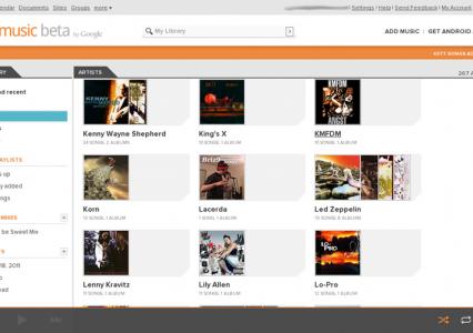 Google pracuje nad własnym serwisem ze streamingiem muzyki