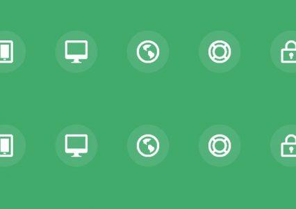 8 efektów hover dla ikon przy użyciu CSS3