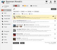 Mailpile 0 1 Interface Inbox 1