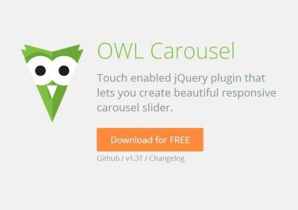 OWL Carousel czyli bardzo funkcjonalny skrypt rotujący obrazki