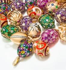 Fabergé+Egg+Charm+Cluster