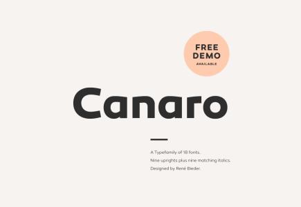 canaro-font