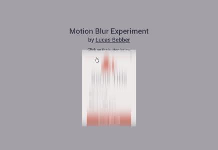 motion-blur-experiment