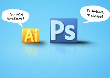 Illustrator vs Photoshop – to który w końcu lepszy?