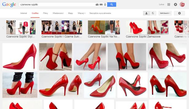 czerwone szpilki   Szukaj w Google
