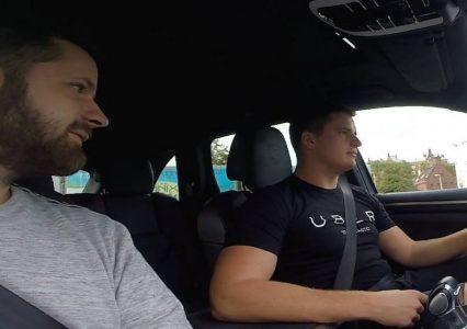 [VIDEO] Miałem okazje przejechać się Porsche Cayenne GTS w piątkowej akcji Ubera