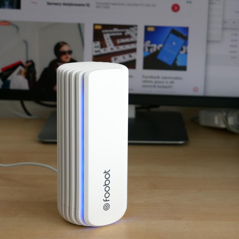 [VIDEO] Zrobiłem dla Was krótką recenzją Foobot – czujnik jakości powietrza