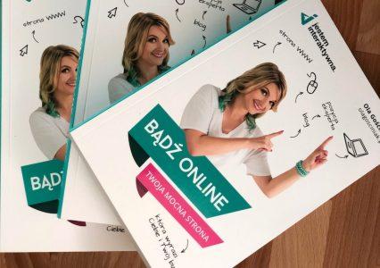 """Szybki konkurs – trzy książki """"Bądź online"""" do wygrania!"""