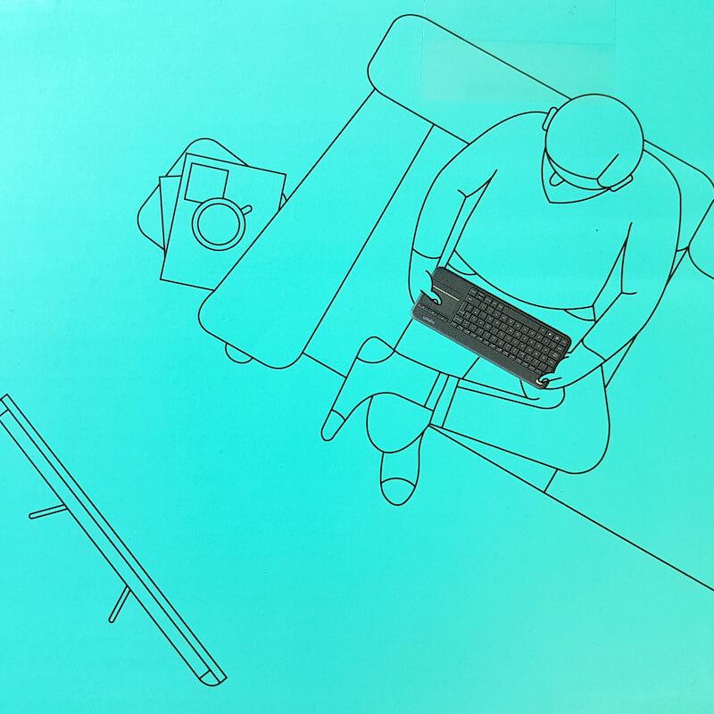 Pilot żyroskopowy czy klawiatura z touchpadem Logitech K400+ do Smart TV? Sprawdzamy!