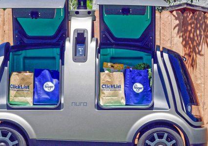 Autonomiczne kapsuły już dostarczają zakupy w Arizonie