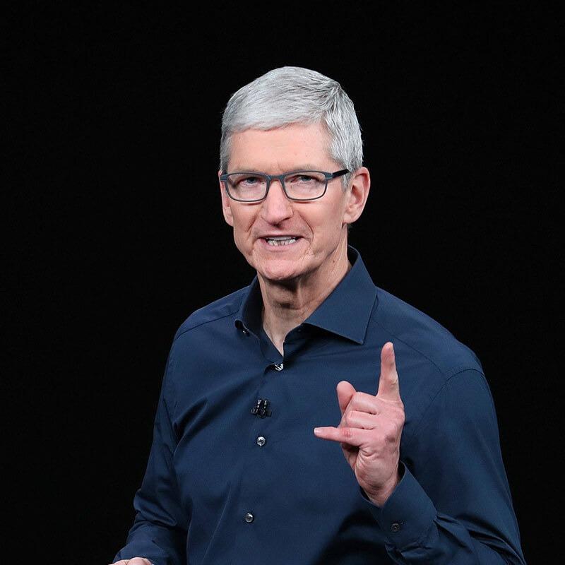Masz iPhone'a albo inny sprzęt Apple? Dzięki Tobie Tim Cook dołączył do elitarnego grona