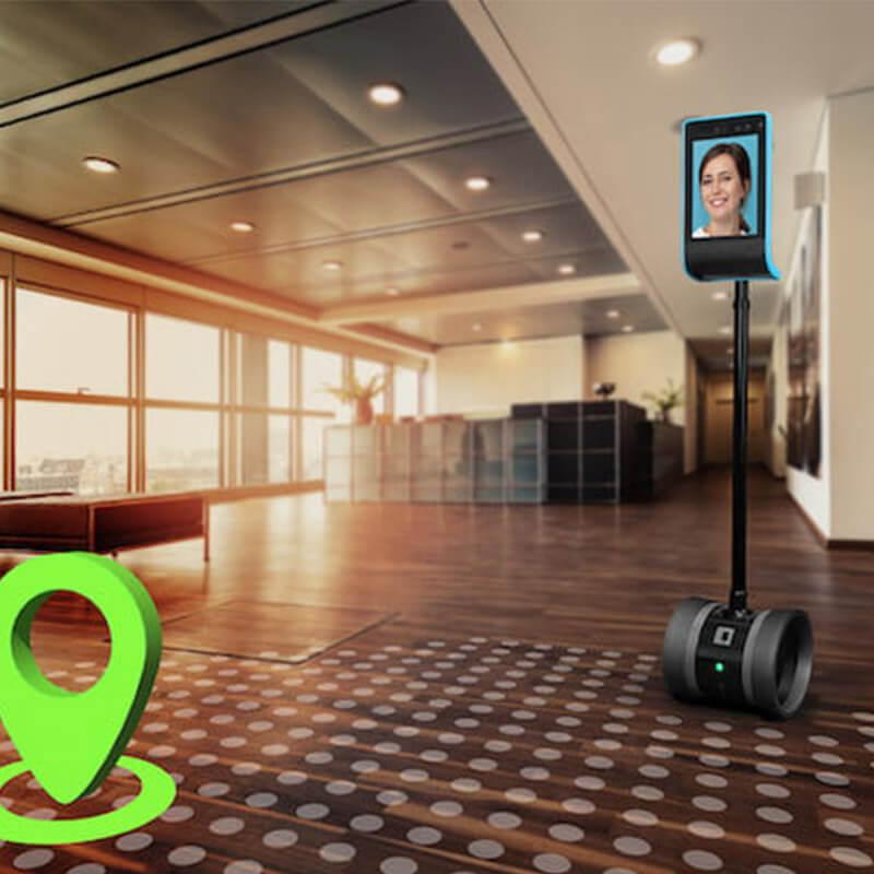 Tak będą wyglądać korporacje przyszłości? Robot na kółkach to coś więcej niż jeżdżący tablet