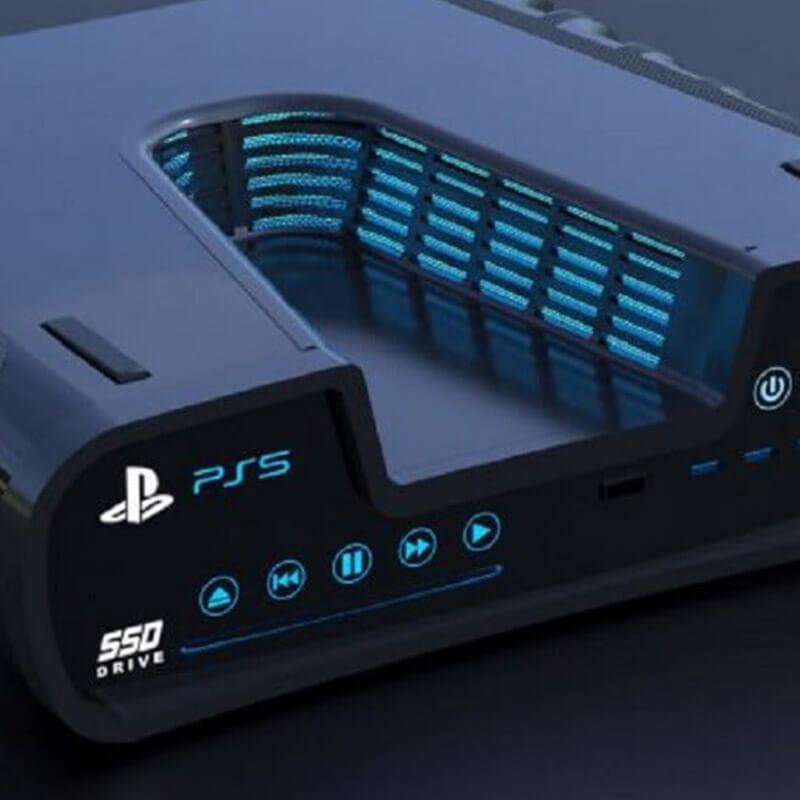 PlayStation 5 na renderach. Kosmiczny wygląd!