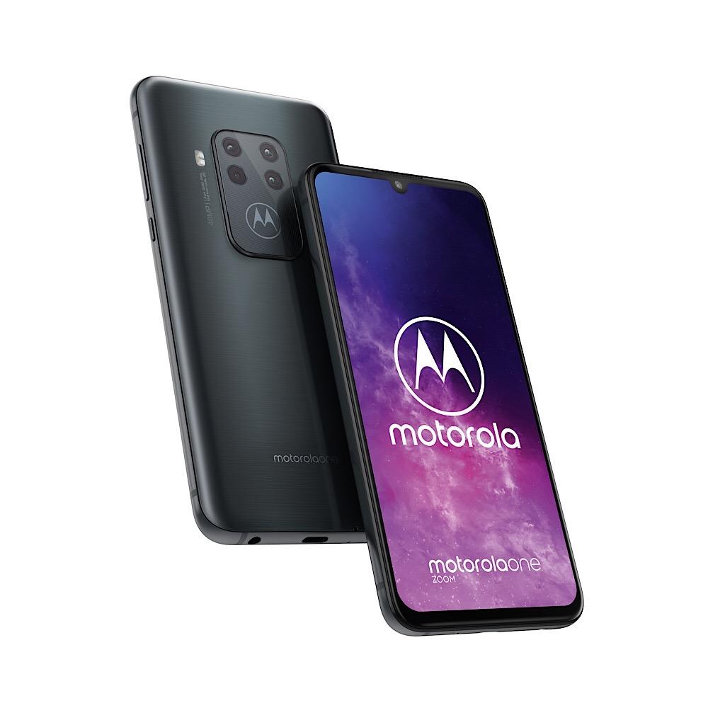 Cztery aparaty! Motorola One Zoom już oficjalnie   IFA 2019