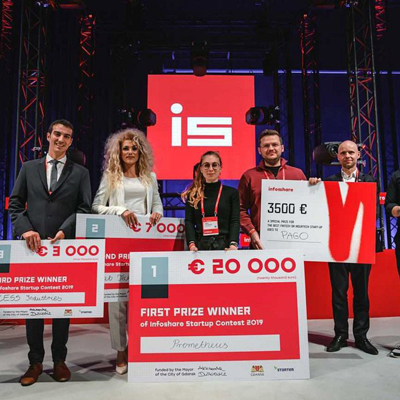 30 tys euro dla startupów na Infoshare i finał w Gdańsku!