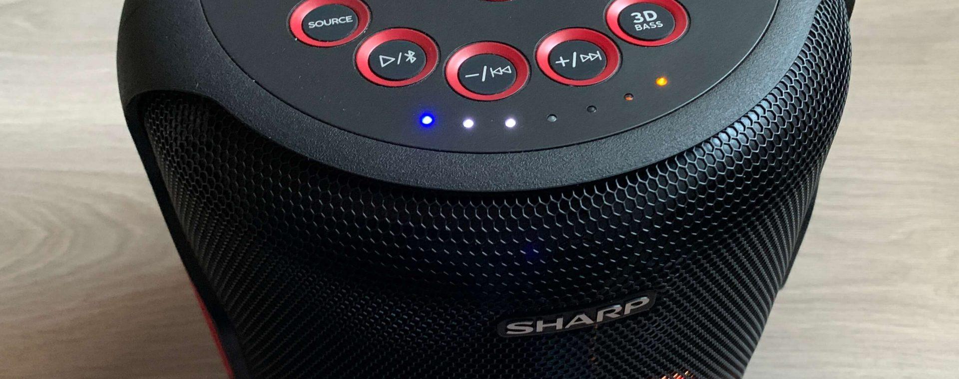 Solidny głośnik imprezowy. Pierwsze wrażenia z testowania Sharp PS-919