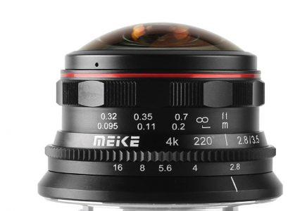 Nowe rybie oko od Meike ma ogniskową… 3.5 mm