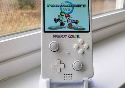 Niesamowity gadżet! Powstał WiiBoy Color, czyli Nintendo Wii w formacie Game Boya