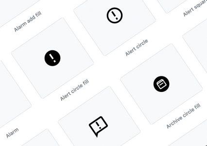 Biblioteka ponad 1000 darmowych ikon SVG na licencji MIT