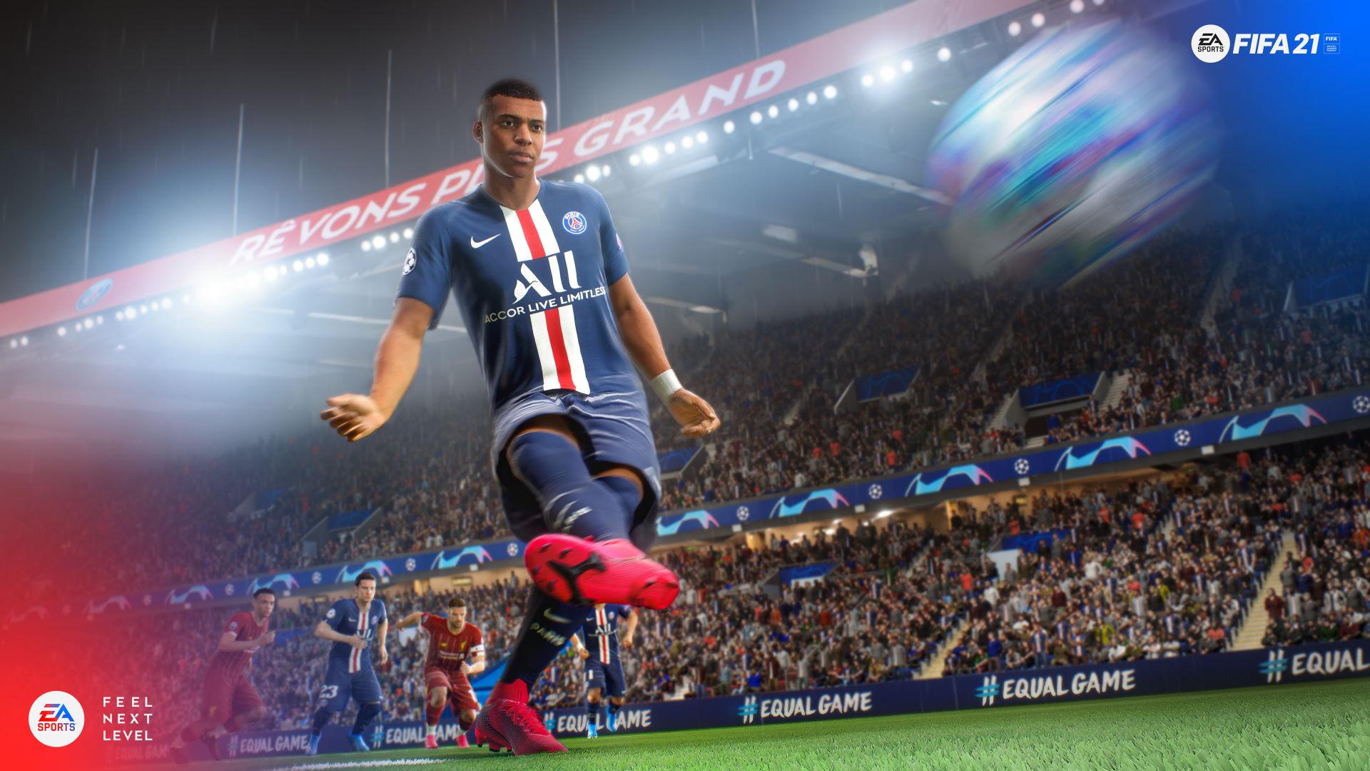 FIFA 21 - screenshot z gry na konsole