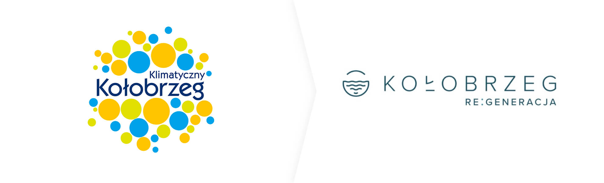 satre i nowe logo Kołobrzegu