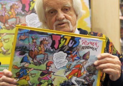 Tytus, Romek i A'Tomek kończą 63 lata!