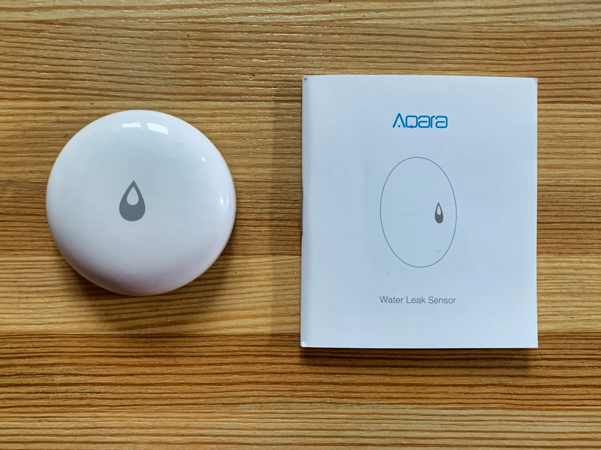 aqara czujnik zalania zawartość opakowania