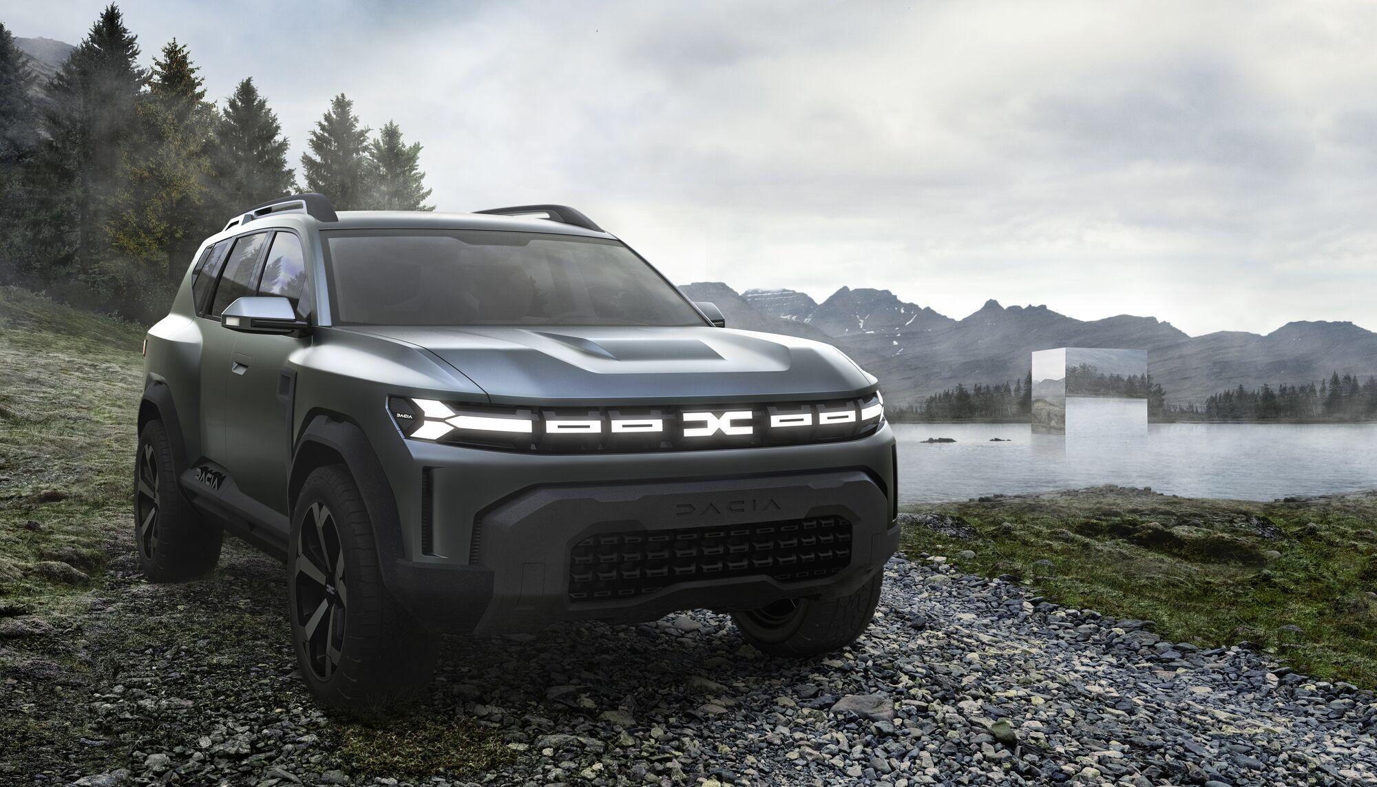 Dacia Bigster nowy concept od Dacii