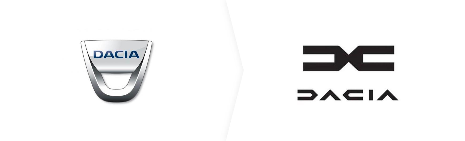 dacia stare i nowe logo
