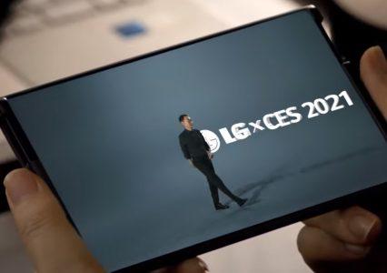 LG prezentuje smartfona ze zwijanym ekranem – CES2021