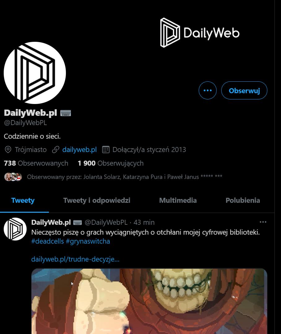 dailyweb twitter
