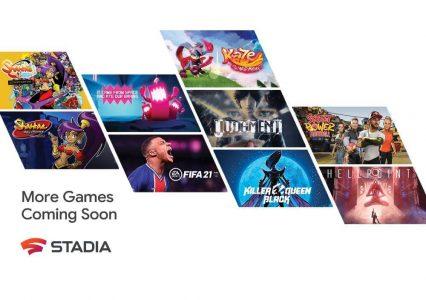 Nowe gry już niebawem w Google Stadia. Pojawi się m.in. FIFA 21