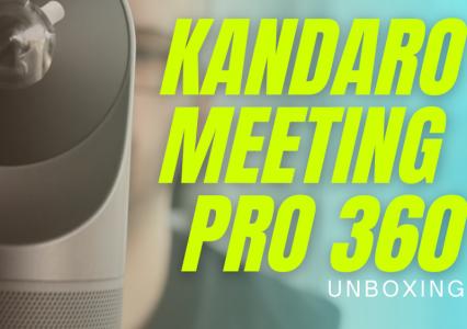 Poznajcie Kandao Meeting PRO 360° – kamera 360 do zastosowań biznesowych
