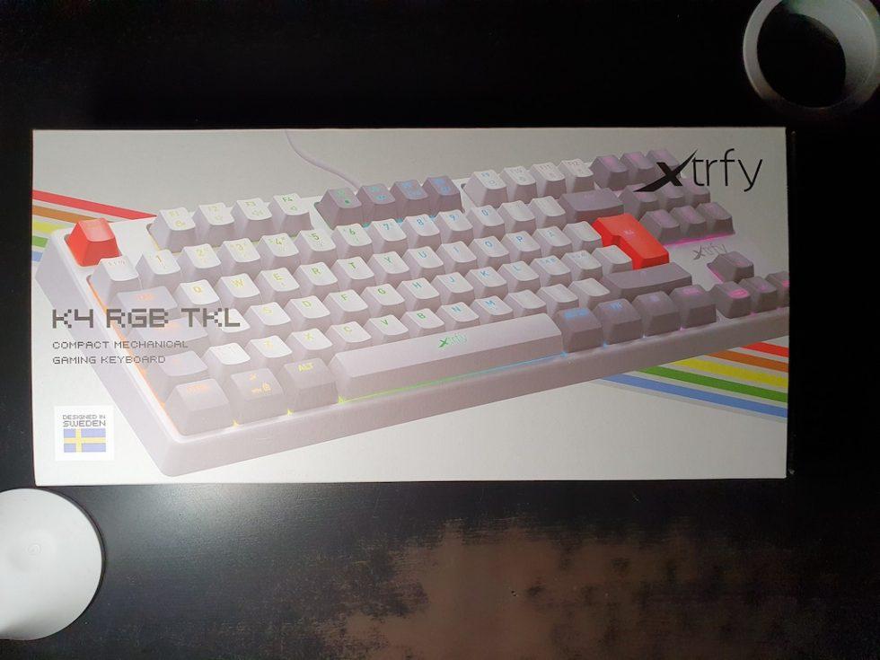 xtrfy k4 retro tkl 2