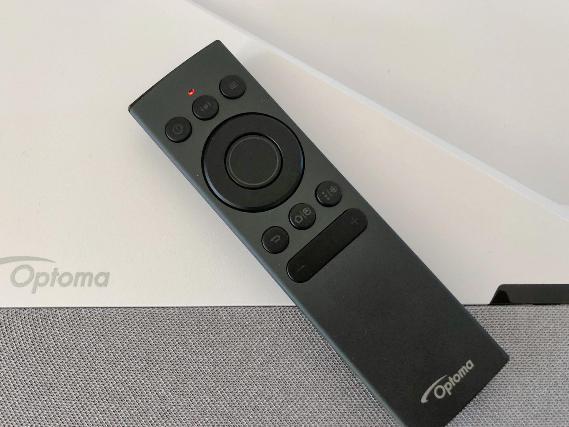Optoma CinemaX P2 jakość wykonania