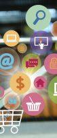 Kurier, smartfon i zakupy w sieci