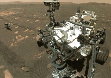 NASA opublikowała nagranie lotu drona na Marsie w wersji 3D