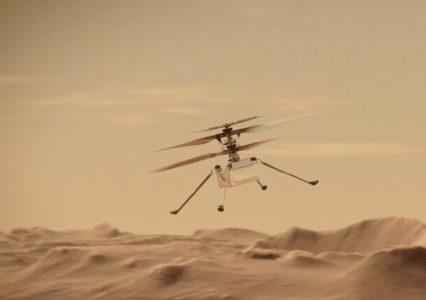 Było groźnie! Dron na Marsie o krok od wypadku po awarii w trakcie lotu