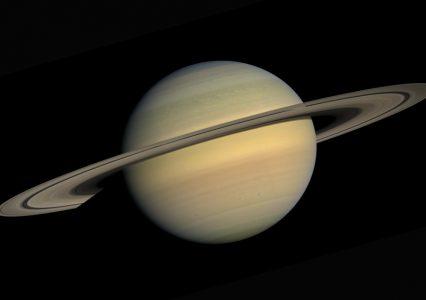 Animacja ukazująca pierścienie Saturna. WOW!