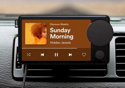 """Spotify bierze się za sprzęt. Poznajcie """"Car Thing"""" do odtwarzania muzyki w aucie i to za darmo!"""
